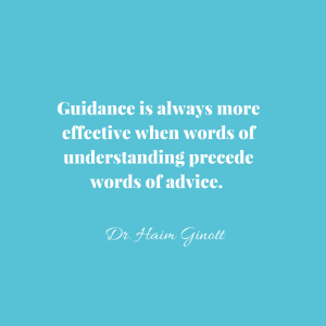 Guidance is always more effective when